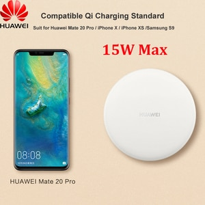 Original Huawei CP60 15W QI Wireless Charger 18W Adapter 5A Type C Cable For P30 P40 Pro Mate 20 RS 30 40 Pro IPhone 11 12 Pro