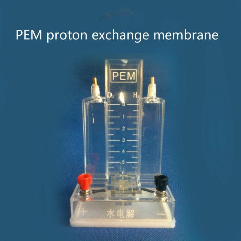 Nuevo electrolizador PEM de agua rápida, membrana de intercambio de Proton, accesorios de prueba de celda de combustible de hidrógeno