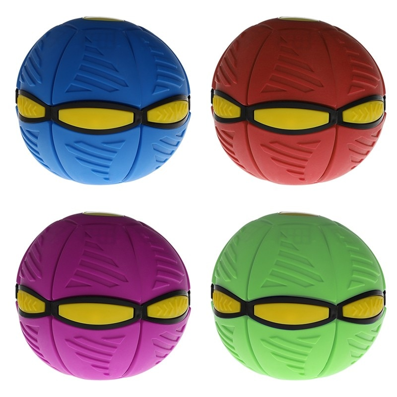 Magic UFO Ball Transfiguration Ball Magic Glow Vent Ball Outdoor Parent-Child Game Ball Children's Toy Ball Adult Decompression enlarge