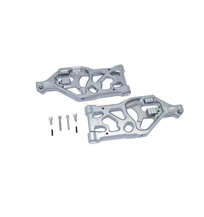 ARRMA 1/5 KRATON 8S ARA110002T1/ARA110002T2 Aluminum alloy front lower rocker arm-pair ARA330589+ARA330593 enlarge