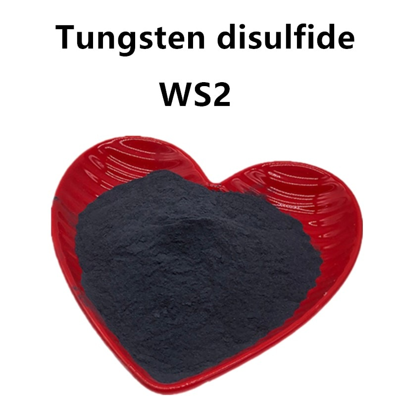 tungsten disulfide powder Tungsten disulfide superfine WS2 powder with 99.9% purity for lubrication material nanometer 50-500g mos2 high purity powder 99 9