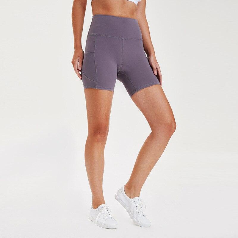 Short courbe Fitness pour femmes, style sirène, survêtement, short de Sport, taille haute, Slim, contrôle du ventre, pour course à pied, athlétique