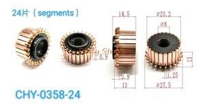 1 шт. 8x23,2x14,5 мм 24P медные стержни генератор электродвигатель CHY-0358-24