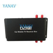 M-688 هوائي 4 موالف سيارة HD DVB-T2(H.265) التلفزيون الرقمي تيرنر استقبال صندوق التلفزيون Dvb T2 USB HDMI 4 التنقل رقاقة