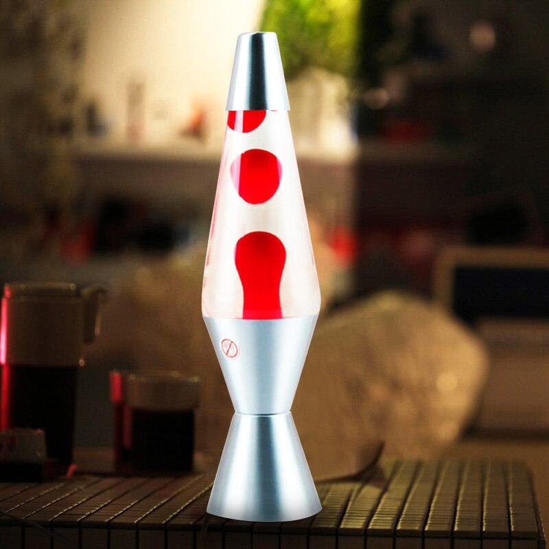 مِصْباح لافا النيون تسجيل أضواء ليلية LED الحمم السائل إضاءة للطاولات ل ديكور غرفة نوم قنديل البحر ليلة مصابيح متعدد الألوان لعب اطفال مصابيح
