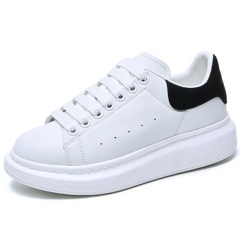 Quality Original Luxury Designer Mcqueens Shoes For Women High Platform Brand Sport White Sneaker Casual Trainer Men Women Shoes