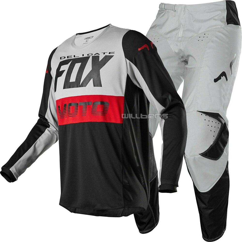 2020 Delicate Fox 180 Fyce автомобильный MTB велосипед набор для мотокросса мотоциклетный мужской костюм