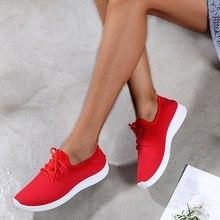 SHUJIN Women Sneakers Outdoor Running Shoes  Sports Shoes Mesh  Light Bottom Casual Shoes