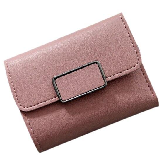 Fashion Women Mini Wallet Vintage Women Purse Card Storage PU Leather Wallet Handbag