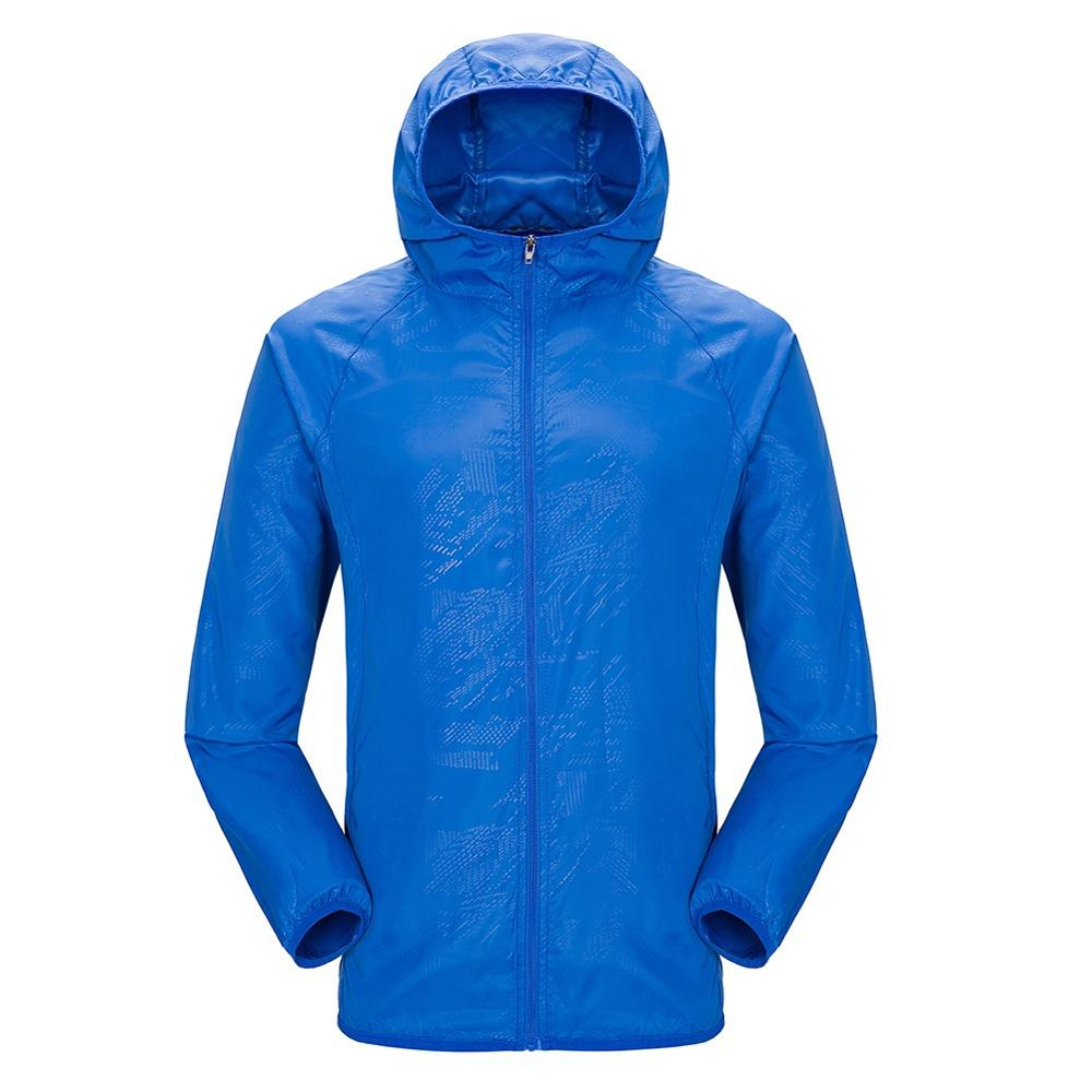Hiking Jacket Waterproof Quick Dry Camping Hunting Clothes Sun-Protective Outdoor Sports Coats Anti UV Windbreaker for Men Women