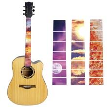 ملصقات لوحة أصابع الجيتار ، 15 نمطًا ، ملصق مرصع ، رقبة جيتار ، جيتار ، باس ، قيثارة ، ملصق رقيق ، ملحقات جيتار إكسسوارات الغيتار وقطع غياره    -