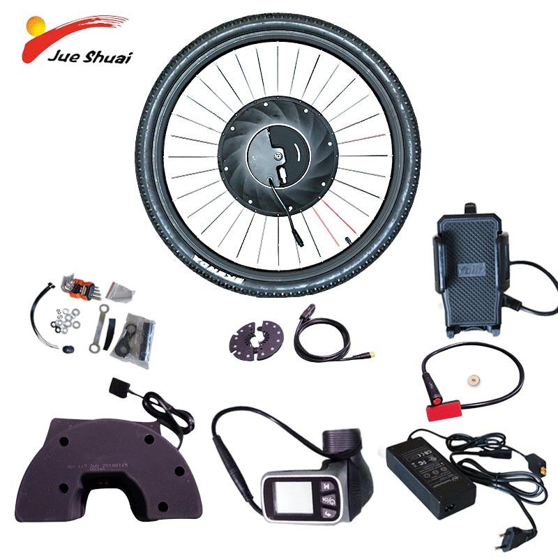 Jueshuai iMortor conversión eléctrica Kit de Bicicleta con batería CAMBIO DE buje...