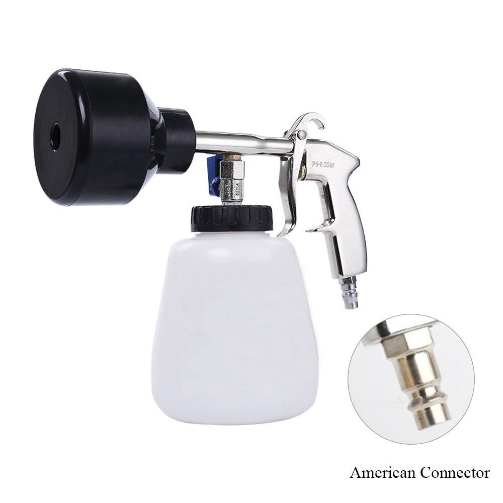 Lavadora de carros arma de espuma de neve lança gerador interior profunda alta pressão arma de limpeza do carro para eua conector de lavagem do carro
