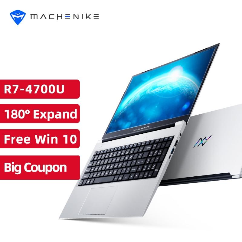 "Review Machenike AMD Ryzen 7 4700U Laptop WiFi 6 Ultrabook 8G 3200MHz 512G SSD 15.6"" FHD Notebook Office Laptop Metal A/D Shell"