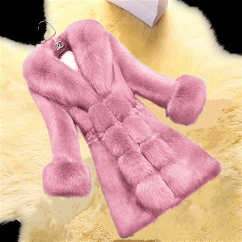 Women Teddy Coat wool fur furAutumn Winter Plush Turndown Collar Button Jacket Thicken Wool Blend Warm Kawaii Outwear Fashio snap button hooded drop shoulder wool blend coat