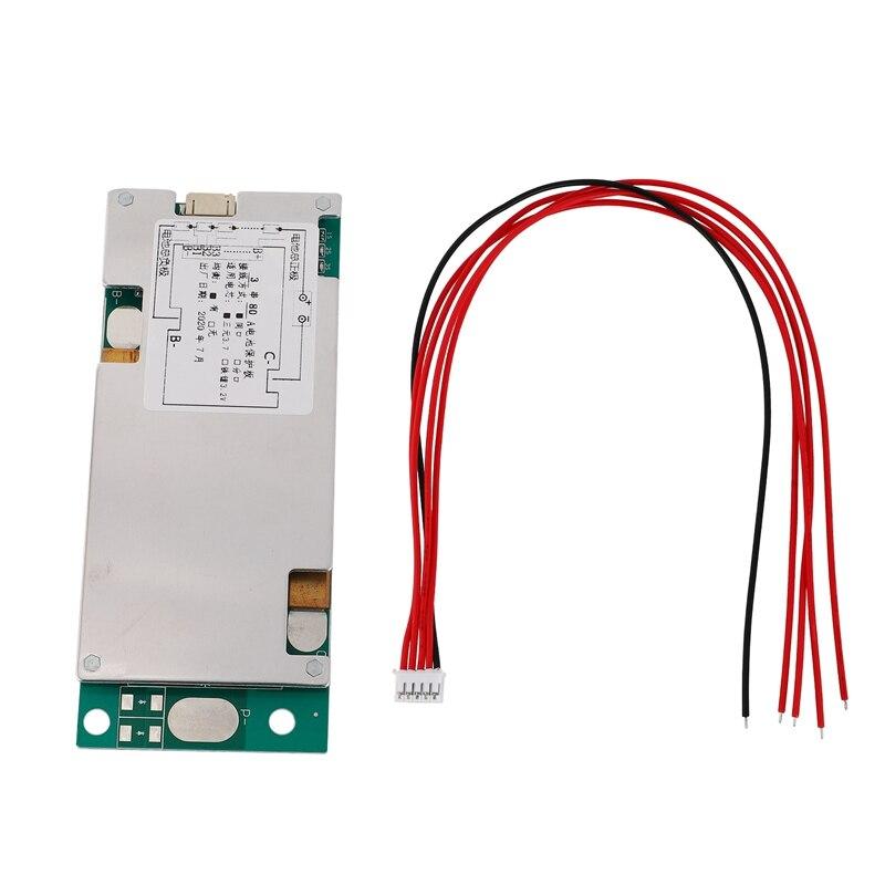 Placa de protección de batería li-polímero 14S 52V 20A BMS PCB Board con Balance para UPS inversor de energía e-bike EScooter