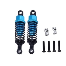 2Pcs Aluminum Shock Absorber Upgrade Parts for 1:18 Wltoys A959 A969 A979 K929 Replacement A949-55 R