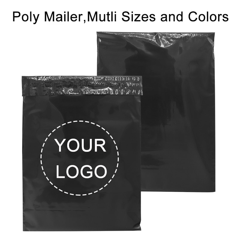 50PCS Custom logo Poly Mailers Padded Envelopes Courier storage Postal Bags Gift Packaging Padded Shipping bubble Envelopes
