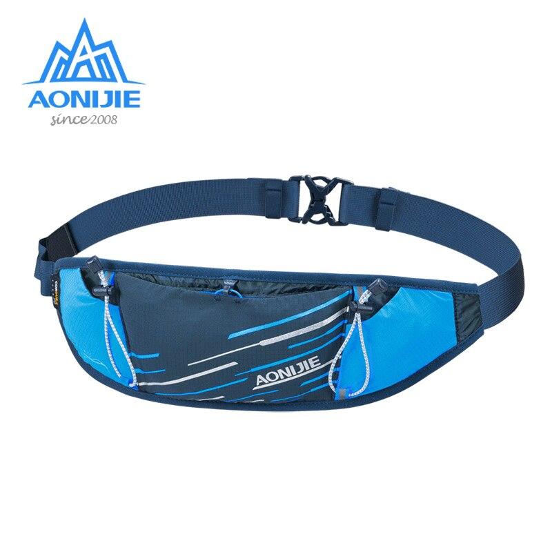 Легкая тонкая поясная сумка для бега AONIJIE W8102, поясная сумка с гидратором для бега, фитнеса, тренажерного зала, походов
