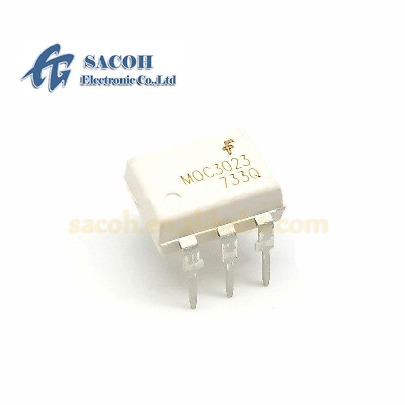 10 шт./лот новый оригинальный MOC3023 MOC3023SR2M или MOC3023SM или MOC3023M или MOC3023VM или EL3023 DIP/SOP6 Optoisolat