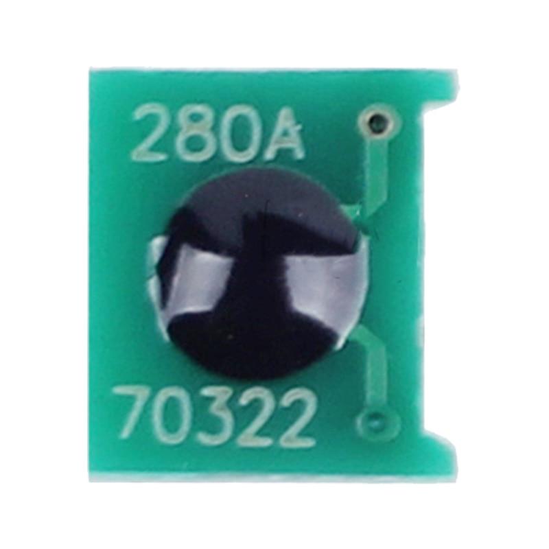 Consumble CF280A CF280X toner cartridge reset chip for HP Laserjet Pro 400 M401d 400MFP M425dw M425dn M401dn M401n laser printer