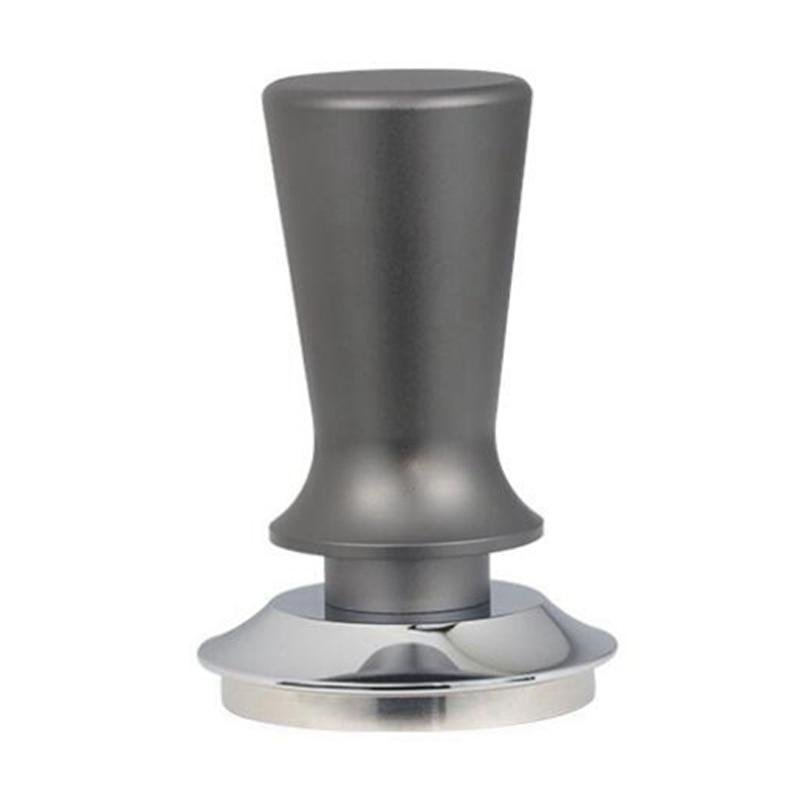 53 مللي متر ضغط ثابت معايرة القهوة قطعة دك حبيبات الاسبريسو باريستا إسبرسو قاعدة مسطحة القهوة الفول الصحافة العبث