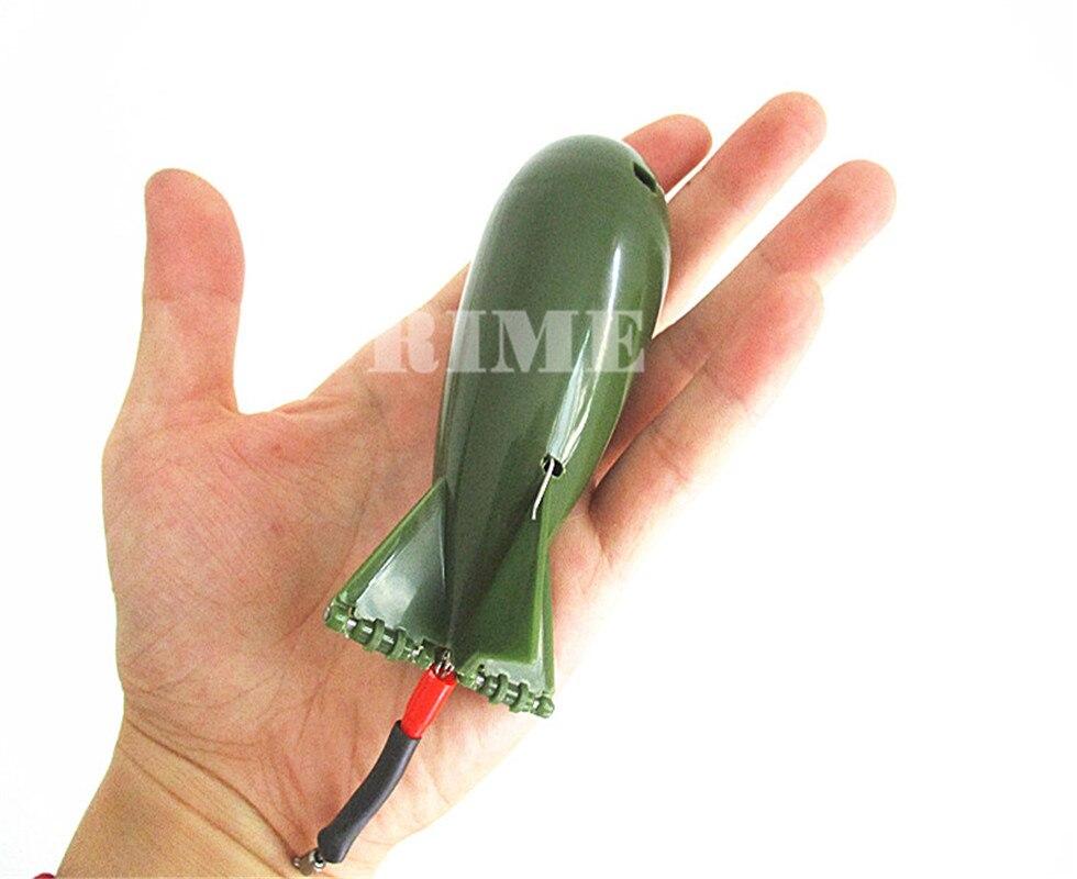 Spod bomba isca foguete boilies titular para carpa engrenagem de pesca pit órgão