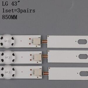 Image 3 - Светодиодная подсветка 3 шт x 43 дюйма для LG 43uh619v 43UH610V 43UH6030 UF64 UHD _ A 43LH5700 43LH60FHD HC430DGG SLNX1 43UF6400 43LG61CH