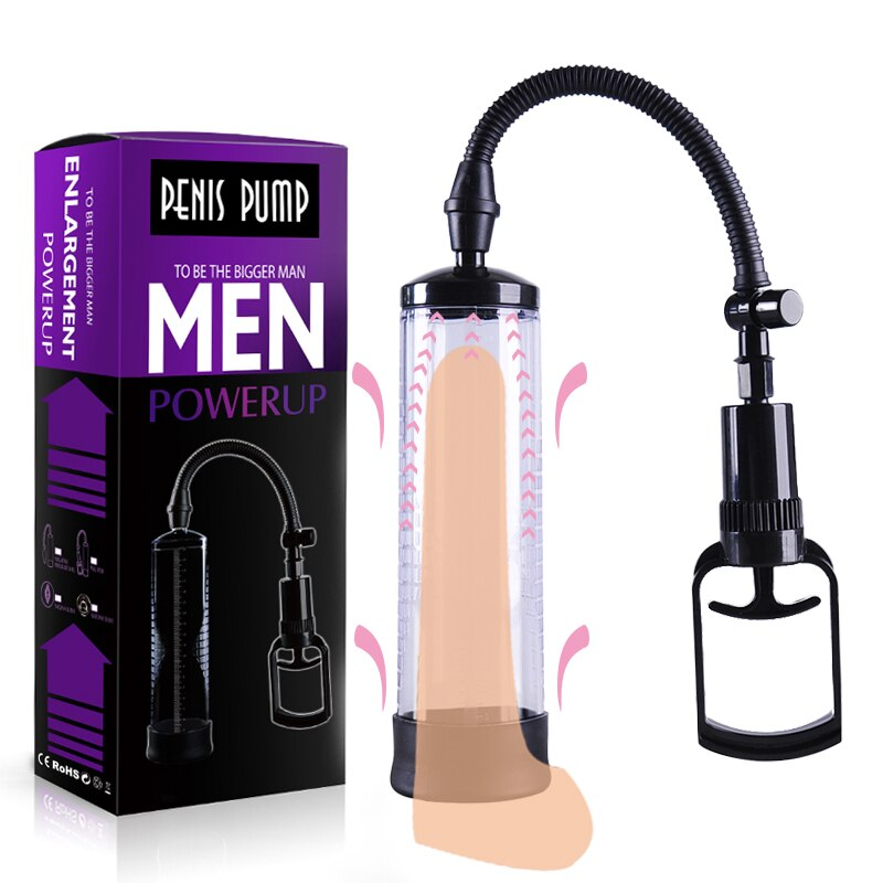 Penis Pump sex toys for man Penis Enlargement Vacuum Pump Male Penis Extender Enhancer Masturbator Penis Trainer Adult sex toys