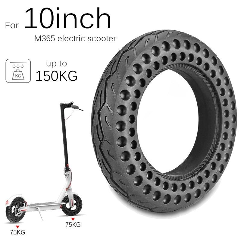 Superventa, neumático de Scooter eléctrico de 10 pulgadas, neumático sólido, neumático antipinchazo antideslizante, neumático de rueda para Xiaomi M365