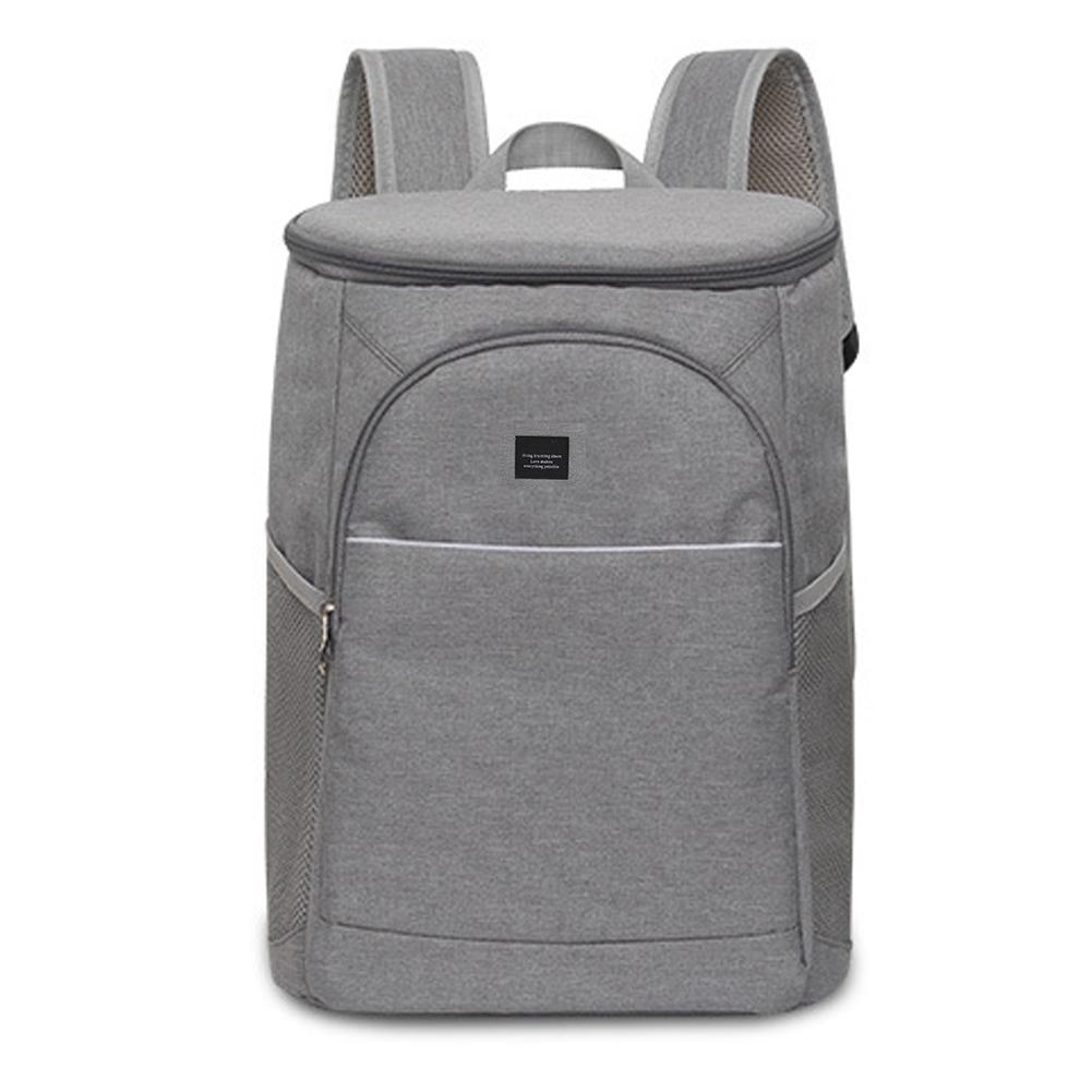 18L mochila de refrigeración aislada al aire libre de Picnic mochila de Camping refrigerador bolsa enfriador de hielo mujeres niños bolsa térmica caja de almuerzo