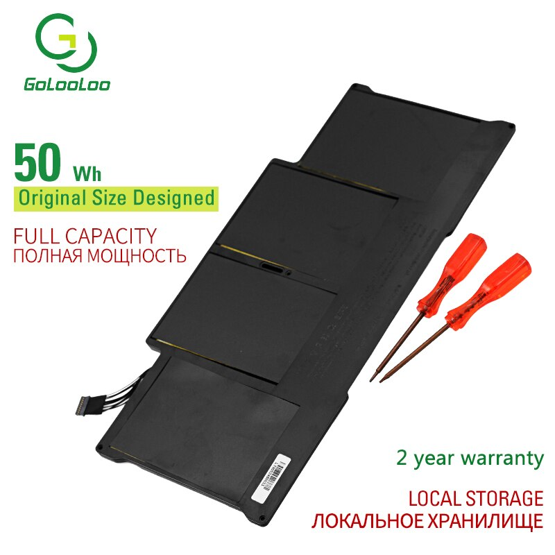 Golooloo 7.3V Laptop Battery for Apple MacBook Air 13\
