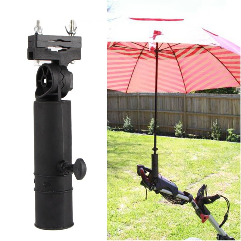 OOTDTY Durable Golf Club Umbrella Holder Stand For Buggy Cart Baby Pram Wheelchair Bike  umbrella st