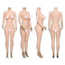 CYOMI 9 points body avec rouge sang texture coton remplissage faux seins vagin pantys pour glisser reine Cosplay costumes transexuel