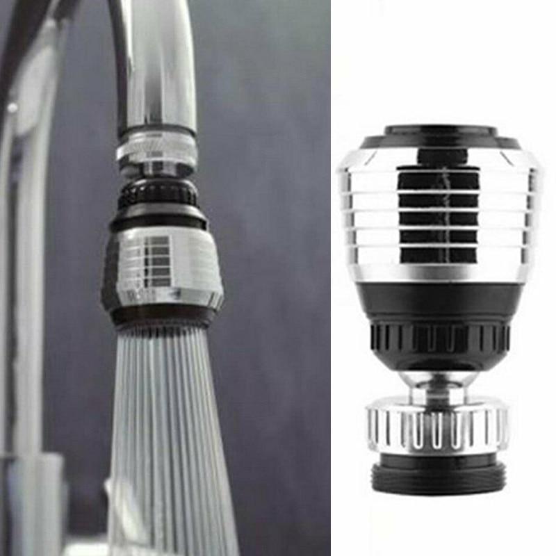360 Вращающийся барботер, водосберегающая насадка высокого давления, фильтр, адаптер для крана, расширитель крана, аксессуары для ванной и ку... расширитель для водопроводного крана телескопический фильтр для ванной и кухни