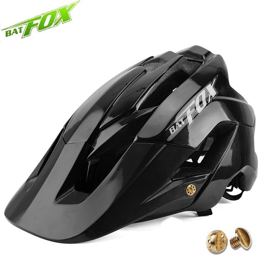 BATFOX-casco de ciclismo para adulto, para ciclismo de montaña, fox, vtt