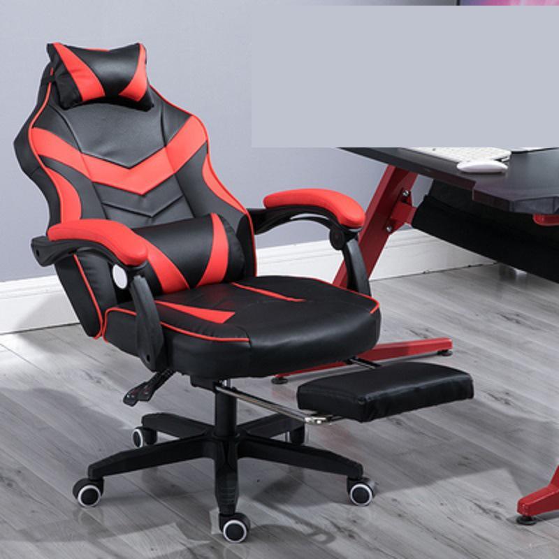 Silla de juegos electrificada Internet café silla Rosa alta espalda ordenador muebles de oficina sillas de escritorio ejecutivo reclinable