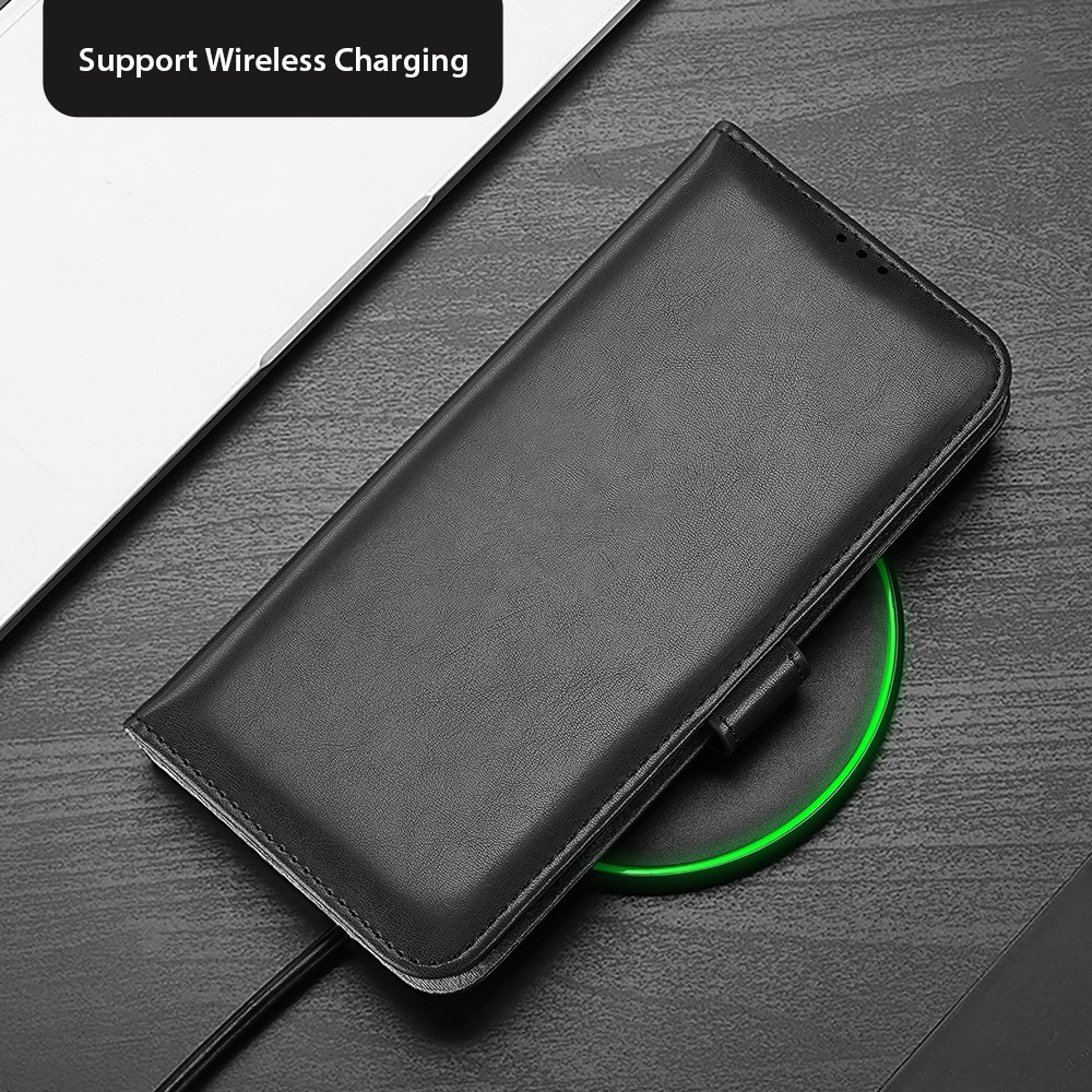 For Samsung Galaxy Note 20 Ultra KADO Series Luxury Leather Wallet Case DUX DUCIS Flip Case Cover 3 Card Cash Slots Super Soft