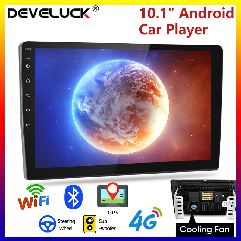 9/10.1 pollici 2 Din Android 8.1 2G + 32G 4G NET Car Radio Multimedia Video Player 2Din di navigazione GPS FM Per Toyota Kia Honda VW