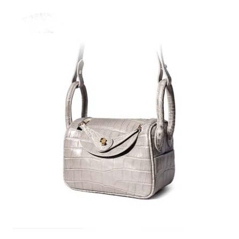 Yuanyu-حقيبة جلد تمساح نسائية ، حقيبة كتف صغيرة ، مستوردة ، مجموعة جديدة