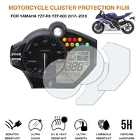 motorcycle cluster scratch protection film screen protector for yamaha yzf r6 600 2017 2018 yzf r1 2009 2014