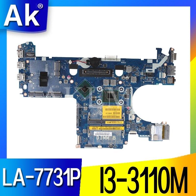 E6230 материнская плата 0WV99V CN-0WV99V 0WV99V DDR3 I3-3110M LA-7731P для DELL E6230 материнская плата для ноутбука протестированная 100% работа
