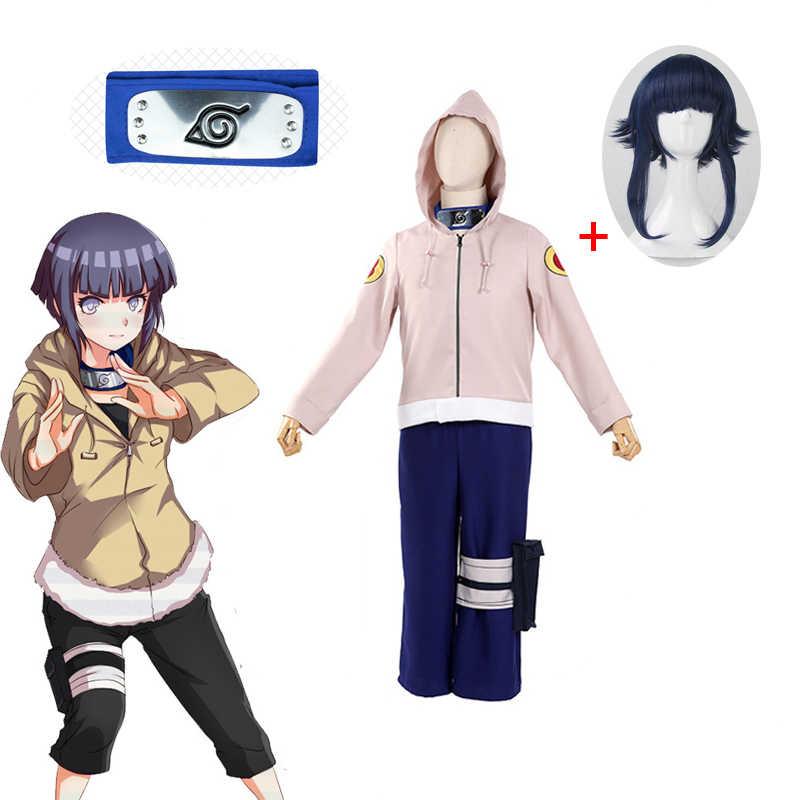 6pics Heißer Anime Hyuga Hinata Kostüm Cosplay Shippuden Hinata Hyuga 2nd Generation Komplette Set Erwachsene Frauen Anzug Aliexpress