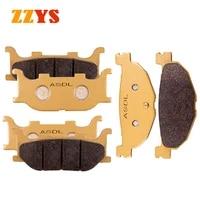 motorcycle ceramic front and rear brake pads set for yamaha xp500 t max tmax xp 500 2004 2008 2007 2006 2005 500cc brake discs