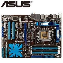 Asus P7P55D-E LX carte mère de bureau P55 Socket LGA 1156 i3 i5 i7 DDR3 16G ATX UEFI BIOS Original utilisé carte mère en vente