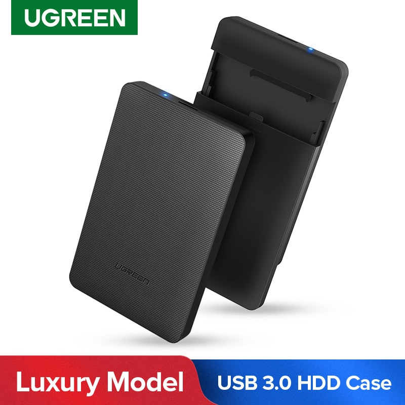 Ugreen 2.5 Inch HDD Case 2.5 SATA to USB 3.0 Adapter External Hard Drive Enclosure for SSD Disk HDD Box HD HDD Caddy Case