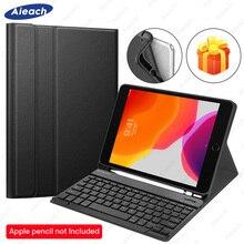 "Bluetooth Keyboard Case For iPad mini 5 2019 mini 4 Case With Pencil Holder Leather Keyboard Funda For iPad mini 3 2 1 Case 7.9"""