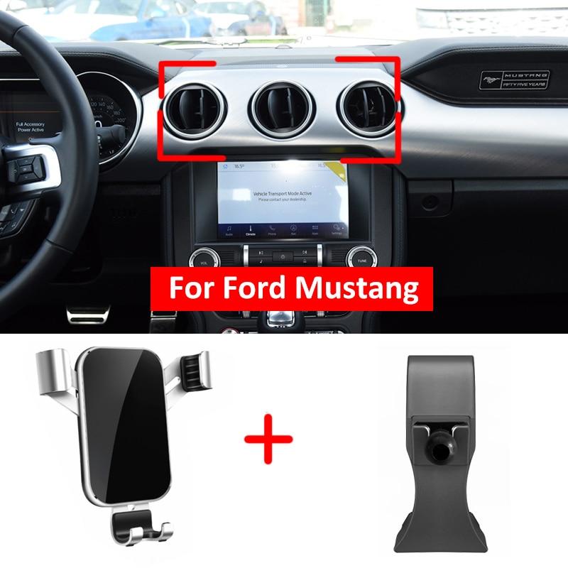 Лучшая цена Новый гравитационный Автомобильный держатель для мобильного телефона с вентиляционным отверстием для приборной панели с креп...