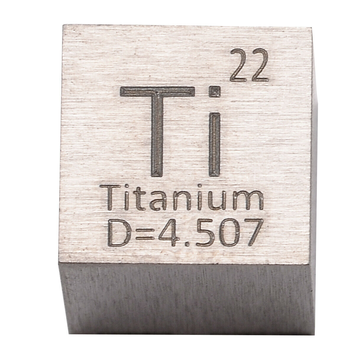 High Purity Titanium Metal 10mm Density Cube 99.95% Pure for Element Collection недорого