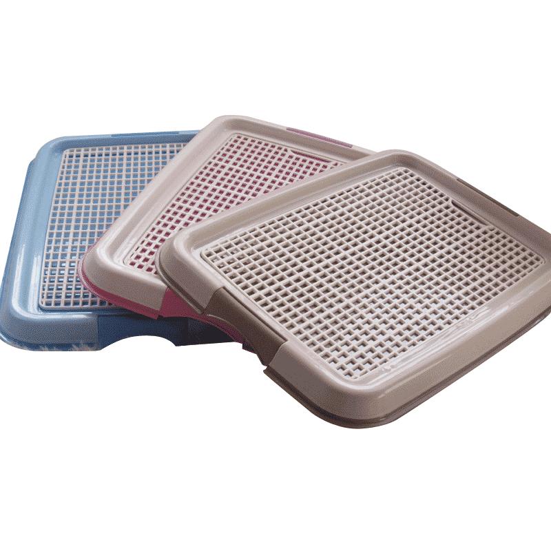 Big Indoor Dog Toilet Mat Plastic Tray Large Puppy Accessories Training Litter Box Washable Urinario Perro Pet Products KK60CS